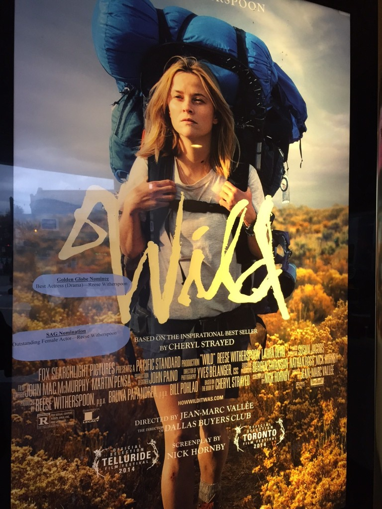 Poster for the film Wild.